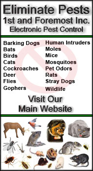 1st and Foremost Electronic Pest Control